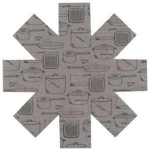 Pot and Pans Cookware Protectors Set of 3