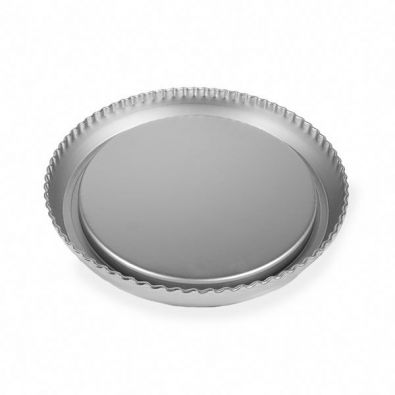Silverwood Crimped Tart and Flan Pan, 11 in.
