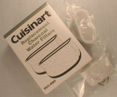 Cuisinart Replacement Charcoal Water Filters
