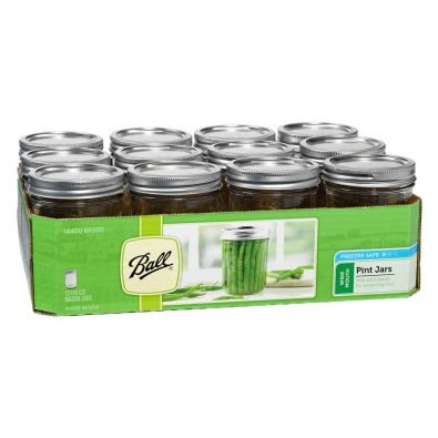 Ball Canning Jars, Wide Mouth 16oz
