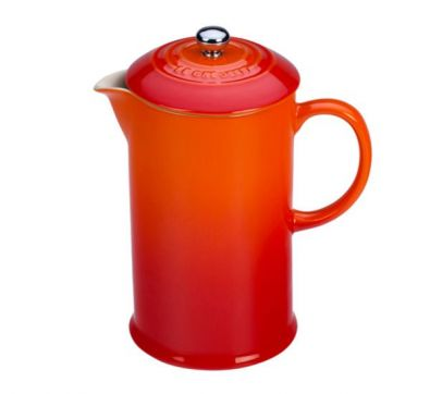 Le Creuset French Press, 27 oz., Flame