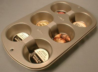 Wilton Recipe Right Muffin Pan, 6-Cup, Nonstick