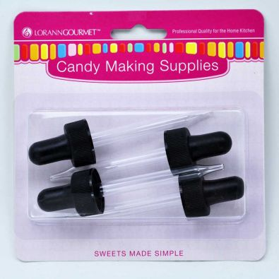 Dropper for Lorann 1 Fl Oz Bottles, 4 Pack