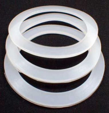 Replacement Silicone Gasket For Aluminum Macchinetta, 6 Cup