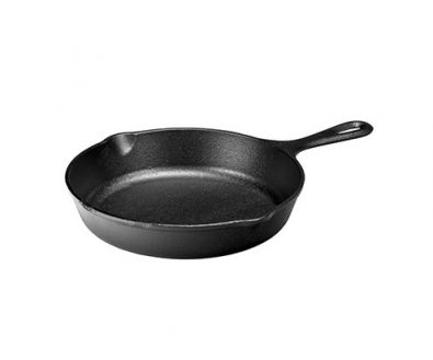 Lodge Logic Pre-Seasoned Cast Iron Skillet, 9 in.