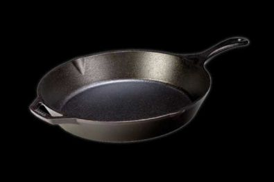 Lodge Logic Pre-Seasoned Cast Iron Skillet, 13.25 in.