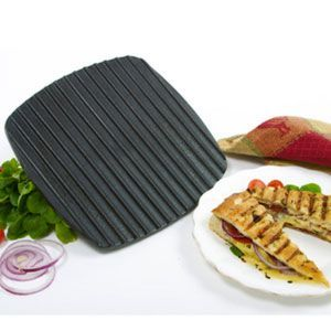 Norpro Cast Iron Panini and Grill Press