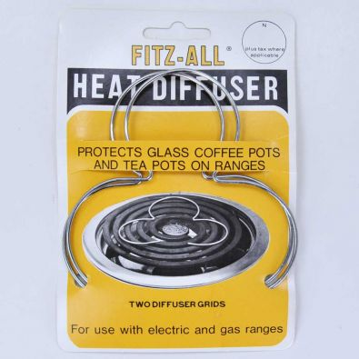 Fitz-All Heat Diffuser Burner Trivets, 2-Pack