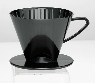 #2 Cone Plastic Coffee Filter Holder Black