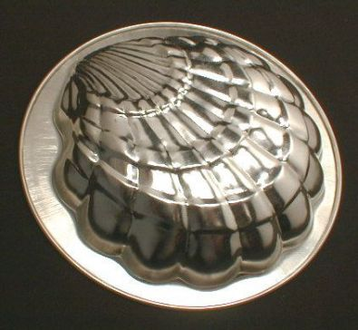 Scallop Shell Pan, Tinned Steel, 5.5 in.