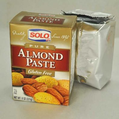 Solo Pure Almond Paste, 8 oz.