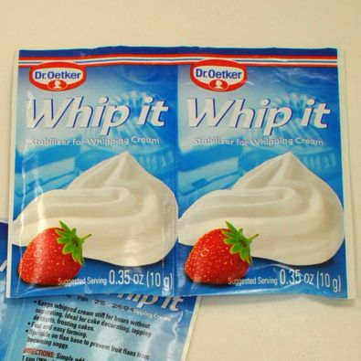Oetker Whip it Stabilizer for Whipping Cream