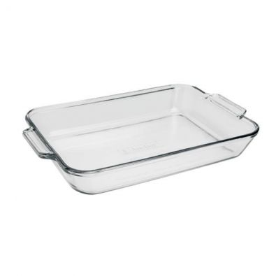 Anchor Hocking Oven Basics Rectangular Glass Baking Dish 3 Qt