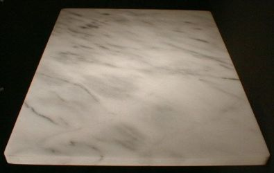 White Marble Large Pastry Board
