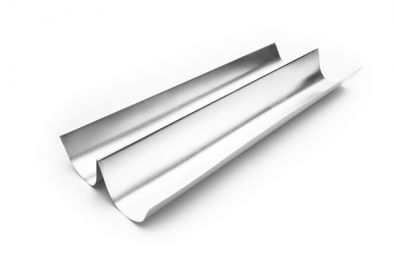Tinned Steel 2-Channel French Loaf Mold