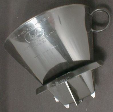 #6 Cone Plastic Coffee Filter Holder for Carafes