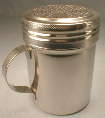 Stainless Flour/Sugar Shaker with Handle