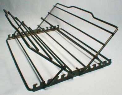 Non Stick Adjustable V-Shaped Roast Rack