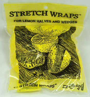 Stretch Wraps for Lemon Halves and Wedges, 12 pack