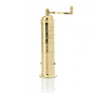 Brass Turkish Coffee and Pepper Mill, 7 in.
