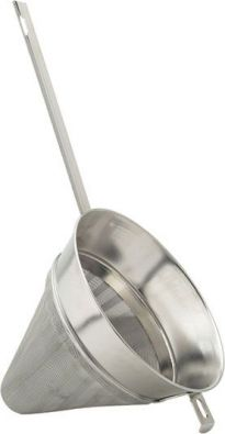 Extra-Fine Stainless Steel Mesh Chinois, 8 in.