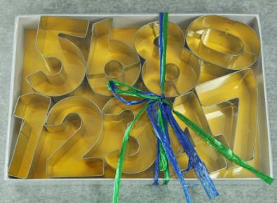 Number Cutters Set, 2.5 in.