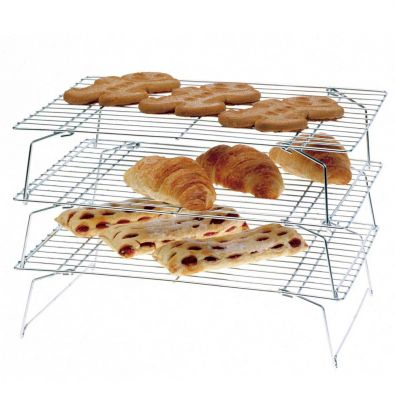 Set of 3 Stackable Cooling Racks