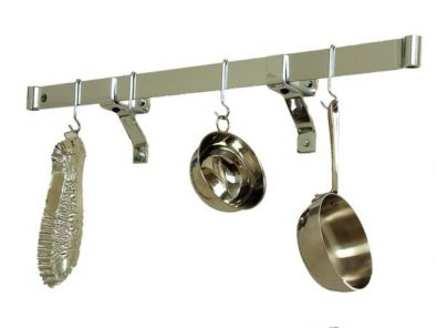 Enclume Rolled End Bar, 36 in., Stainless Steel
