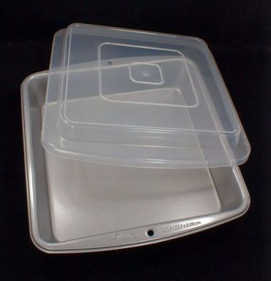 Covered Brownie Pan, Nonstick