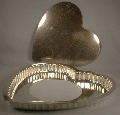 Heart Tart Pan, 10.5 in.