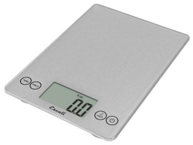 Escali Arti Kitchen Scale 15 lb., Silver