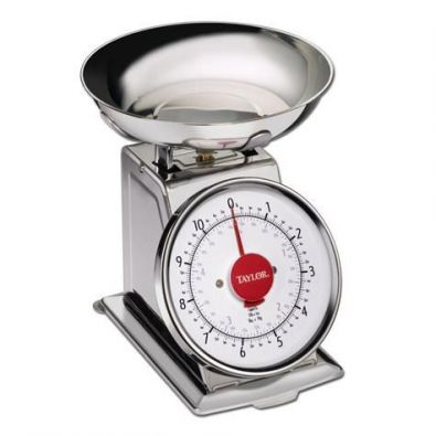 Taylor Stainless Steel Kitchen Scale, 11 lb.