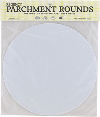 Parchment Circles, 9 in.