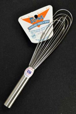 Stainless French Best Whisk, 8 in.