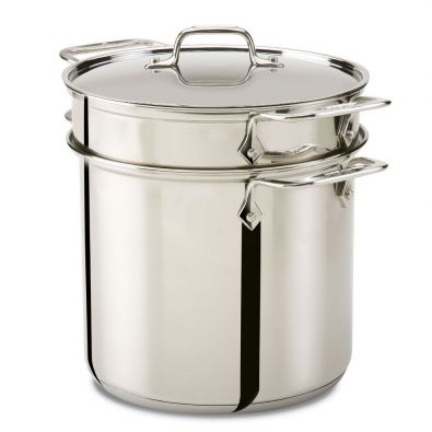 All-Clad Stainless Steel Pasta Pentola 7-Quart
