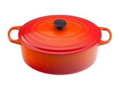 Le Creuset Oval Dutch Oven 9.5 Qt Flame