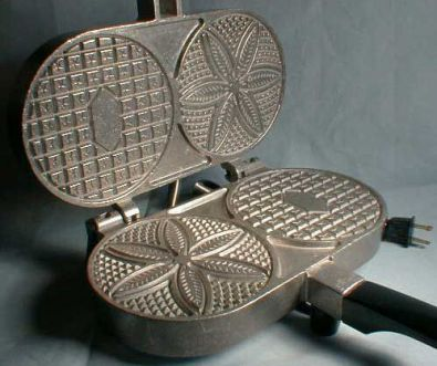 Palmer Pizzelle Maker, Model 1000