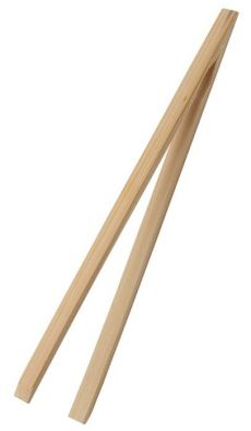 Bamboo Tongs, 12 in.