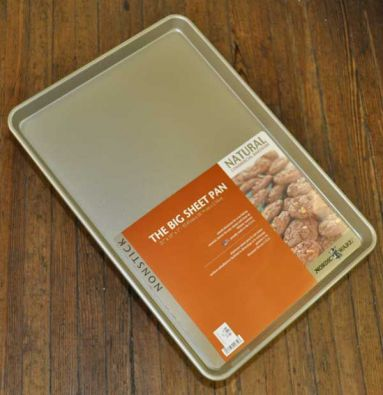 Nordic Ware Nonstick Big Sheet Baking Pan, 21 x 15 x 1 in.