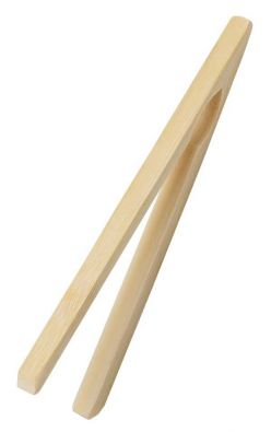 Bamboo Tongs, 7 in.