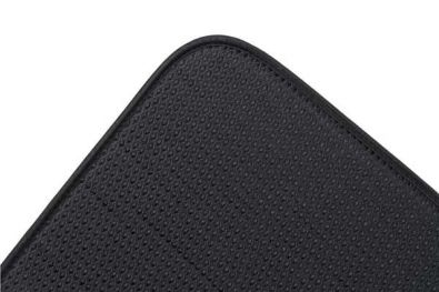 Envision Home Dish Drying Mat, 16 x 18 in., Black