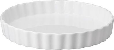 Porcelain Tart Pan, 9.5 in.