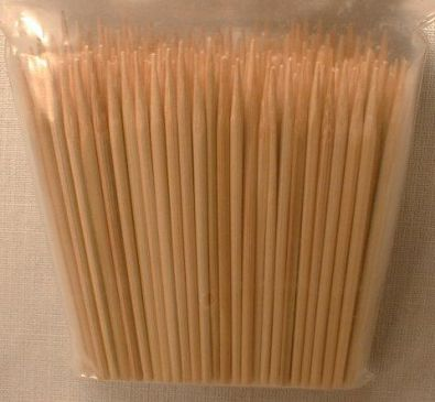 Bamboo Skewers, 4 in.