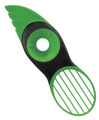 OXO 3-in-1 Avocado Slicer, Green