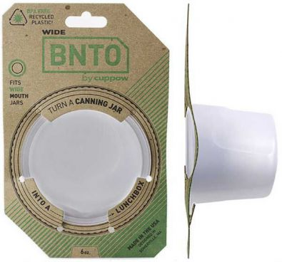 Cuppow Bnto Canning Jar Lunchbox Adapter
