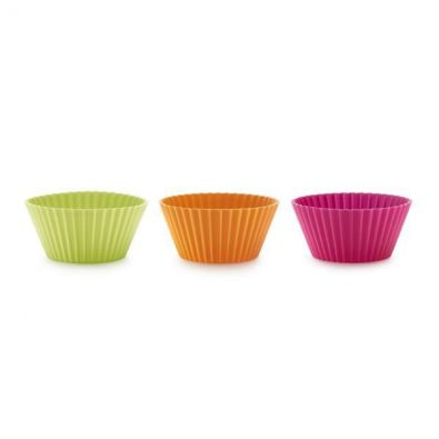 Lekue, 6 Silicone Standard Muffin Cups