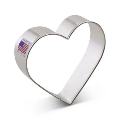 "Heart Cookie Cutter 3.25"" 5631A"