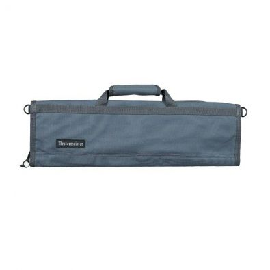 Messermeister 8 Pocket Padded Knife Roll Gray