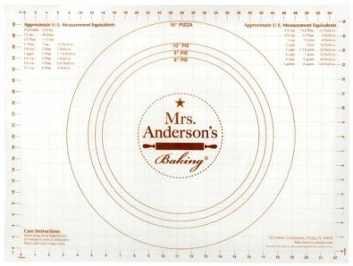 Mrs Andersons Baking NonSlip 18x24 Inch Pastry Rolling Mat