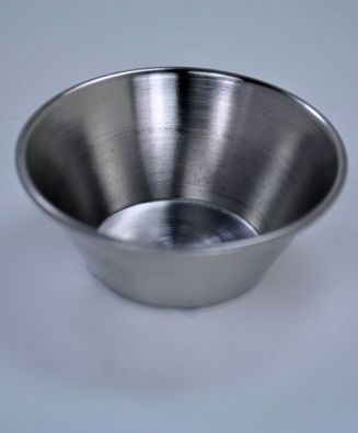 Stainless Steel Shallow Condiment Cup